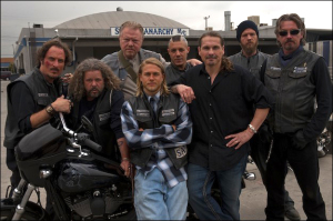 The cast of FX's Sons of Anarchy