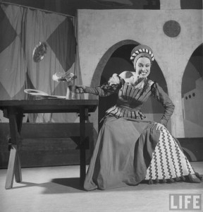 Patricia Morrison in the original production of Kiss Me, Kate.