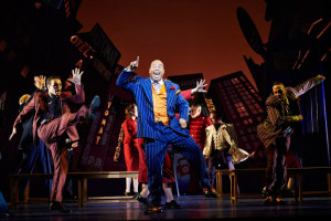 Pretlow in Guys and Dolls at the Hanna Theatre, PlayhouseSquare. Photo by Roger Mastroianni.