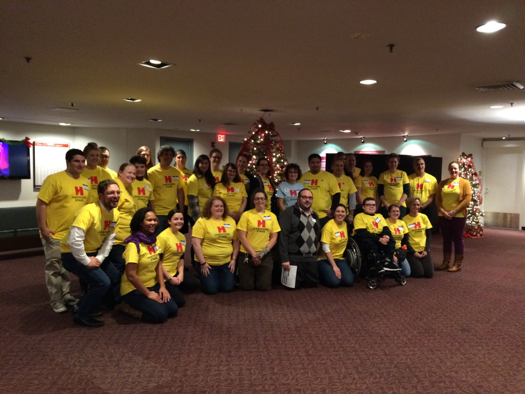 Staff and Volunteers at the 2014 Sensory-Friendly performance.