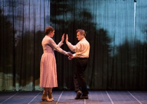 Timberly Canale and Mikhail Baryshnikov in Man in a Case. Photo by T. Charles Erickson