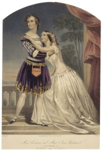 CHARLOTTE CUSHMAN AS ROMEO, WITH HER SISTER AS JULIET, C. 1852