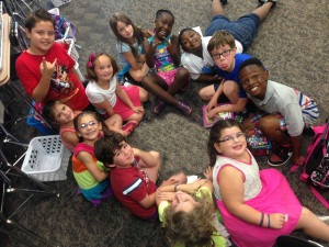 Students from the 2015 Summer Studio Children's Cast