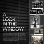 Sometimes, exhibits are created specifically to share the inspiration behind the creative elements of a particular play. 'A Look in the Window' peered into Artistic Director Darko Tresnjak's vision for the world premiere of 'Rear Window' starring Kevin Bacon. Tresnjak, along with set designer Alexander Dodge and costume designer Linda Cho, brought the gritty realism of film noir to Hartford Stage using the images in this exhibit as source material.