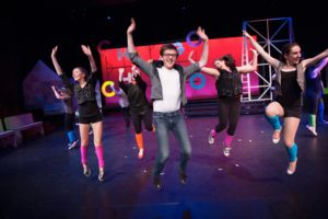 The cast of the Footloose: The Musical. Photo by The Defining Photo.