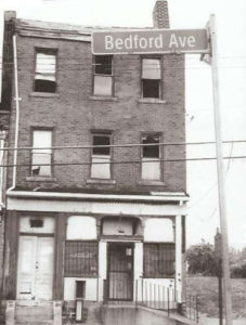 THE AUGUST WILSON HOUSE AT 1727 BEDFORD AVENUE
