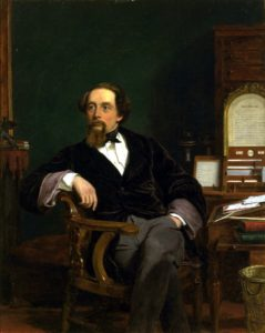 Charles Dickens in his Study, 1859 by William Powell Frith, Victoria and Albert Museum.
