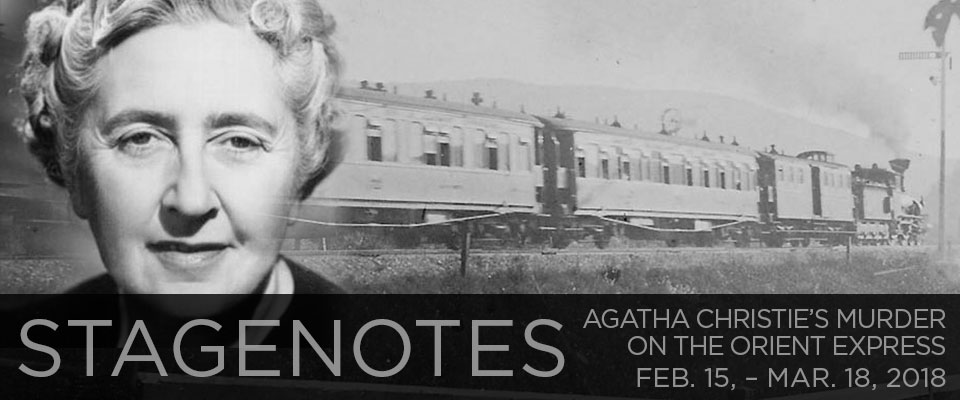 Stagenotes: Murder on the Orient Express