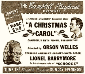 A Christmas Carol radio art