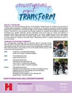 Crowdfunding for Project Transform