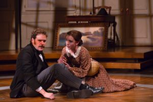 Michael Bakkensen, Amelia Pedlow in Ether Dome. Photo by T. Charles Erickson